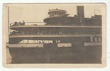 "[62767] OLD REAL PHOTO POSTCARD STEAMER PASSENGER SHIP ""BRITANNIA"""