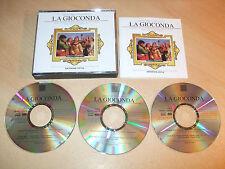 Amilcare Ponchielli - La Gioconda - Antonino Votto (3 CD Set) Mint  Fast Postage