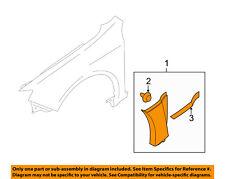 SUBARU OEM 13-14 Impreza Front Fender-Lower Molding Trim Panel Left 91112FG490NN