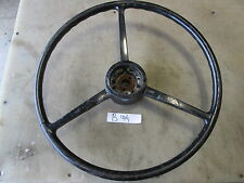 "Military Truck or Vehicle Steering Wheel, 18"", Rough but Usable, 15/16"" Splined"