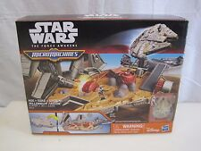 Star Wars The Force Awakens Micro Machines Millennium Falcon Playset B6809