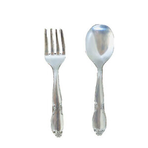 Lot of Vintage BabyChild Silverware First Years Sassy