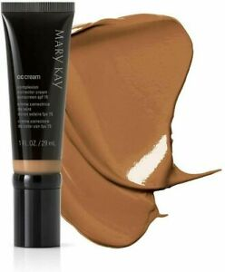 Lot of 4 MARY KAY CC CREAM SPF 15~SKINCARE AND FOUNDATION VERY  DEEP  EXP 9/19