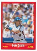 1988 Score New York Mets Team Set With Gary Carter