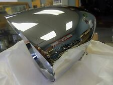"BOBBER HARLEY CHOPPER CUSTOM BILLET 4 1/2"" HEADLIGHT W/ VISOR  BIG DOG  STYLE"