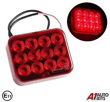 Led Rear Trailer Fog Light Lamp 12V Transporter Caravan Universal E Approved