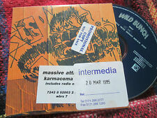 Massive Attack ‎– Karmacoma  Wild Bunch Records ‎– wbrx7 stickered UK CD Single