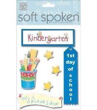 KINDERGARTEN Drawing Preschool First day MAMBI Stickers Scrapbook Crafts