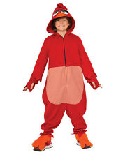 """Angry Birds Kids Movie Red Costume , Large, Age 8 - 10 years, HEIGHT 4' 8"""" - 5'"""