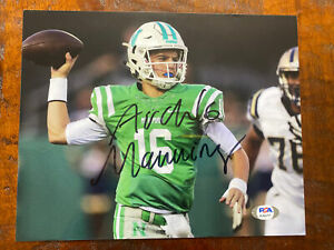 Arch Manning Signed 8x10 Photo Psa Dna Coa Autographed