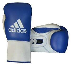 Adidas Professional Glory Boxing Competiton GLoves 100% Real Leather Lace Closin