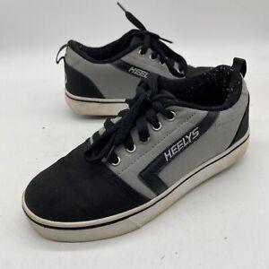 Heelys GR8 Pro Prints Skate Shoes, Youth Boy's Size 5, Gray