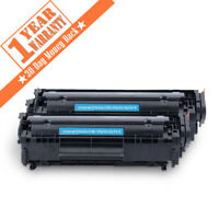 Q2612A 12A Black Toner Cartridge for HP LaserJet 1012 1018 1020 1022 3030 2PK