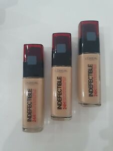 3x L'Oreal Make-Up Indefectible N220 Sand ***3x 30ml***