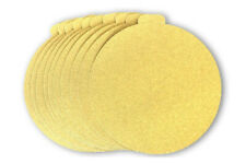 6 Inch Gold PSA Adhesive Sticky Back Tabbed Sanding Discs