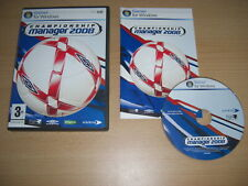 CHAMPIONSHIP MANAGER 2008 Pc Cd Rom CM 08 CM2008 FAST POST