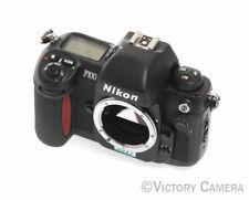 Nikon F100 Autofocus Film Camera Body as-is (91120-3)