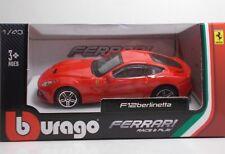 Bburago 36000 FERRARI F12 Berlinetta - METAL 1:43 Race&Play