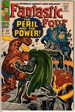 Fantastic Four #60 - APPEARANCES BY THE INHUMANS, THE WATCHER, & BLACK PANTHER!