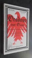 Oradour-Sur-Glane Visión Horror Limoges París 1970 Demuestra Buen Estado
