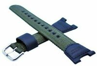 Genuine Casio Watch Strap Replacement Casio SGW-100B Green Nylon, 10304188