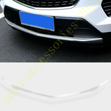 Chrome steel Front Bumper Bottom Protector Cover Trim For Cadillac XT4 2019 2020