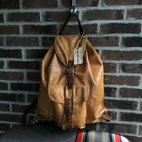 REEDERANG VINTAGE 1960s POLISH MADE DISTRESSED BACKPACK RUCKSACK BAG R$1198