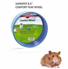 "SUPERPET KAYTEE LARGE 8.5"" SYRIAN HAMSTER COMFORT PLAY WHEEL CAGE EXERCISE 61384"