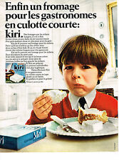 PUBLICITE ADVERTISING 034   1969   KIRI   fromage pour gastronomes