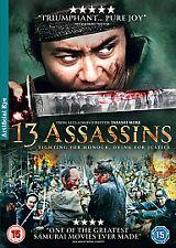 13 ASSASSINS NEW REGION 2 DVD