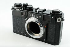 Nikon S2 Black Repaint Rangefinder Film Camera *Excellent++* N4399