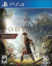 Brand New Assassin's Creed Odyssey Sony Play Station 4 PS4 Sealed