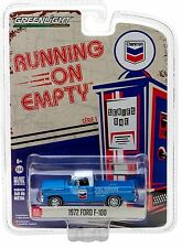 1:64 GreenLight *RUNNING ON EMPTY R1* CHEVRON = 1972 Ford F-100 Pickup Truck NIP