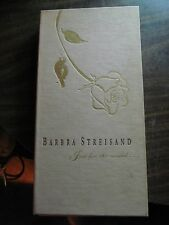 BARBRA STREISAND, Just for the Record, 4 Cassettes, Colour Booklet $Reduced$ 50%