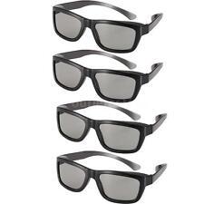 4pcs Passive 3D Glasses Polarized Lenses for LG/Sony/Vizio/Panasonic 3D TV K4K1