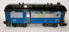 Aristocraft B&O Royal Blue Coach G Scale with Lights Black Roof