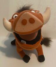 """12"""" Disney / Applause Movie Lion King Pumbaa Wart Hog Warthog Stuffed Plush"""