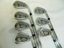 New Callaway Rogue X Iron set 4-PW Irons KBS Max Regular flex Steel RogueX