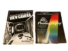 New ListingVintage Film Photography Books Joy Of Photography View Camera Jim Stone Guides