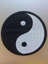 Yin Yang Patch Large - Embroidered/Iron/Sew/Stitch/Glue On - Tao Ying Dao