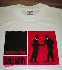 GREEN DAY American Idiot 2005 TOUR T-Shirt SMALL NEW