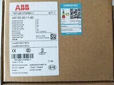 1PC NEW  ABB AX150-30-11-80 220V