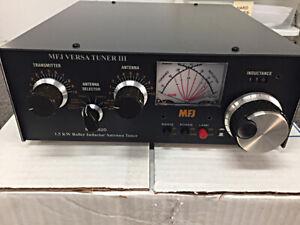 MFJ 962D Versa Tuner III 1.5KW Roller Inductor Antenna Tuner
