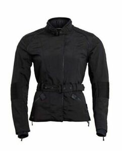 New Genuine Triumph Ladies Charlotte Black Gore-Tex Jacket MLTS18411