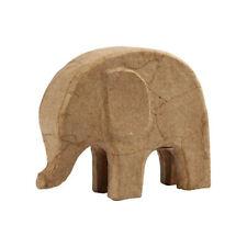 papel maché elefante, aprox. 14x17cm