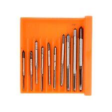 10pcs M1-M3.5 Drill Bit Hand Screw Machine Thread Metric Tap Clock Tapping Tools