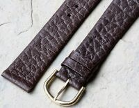 Genuine Caribou 18mm exotic skin vintage watch band Swiss Made 1950s/60s NOS