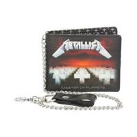 OFFICIAL LICENSED - METALLICA - MASTER OF PUPPETS CHAIN WALLET - METAL HETFIELD