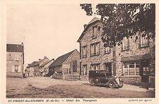 CPA 63 SAINT PRIEST DES CHAMPS HOTEL DES VOYAGEURS