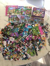 GROS LOT DE PIECES DE LEGO EN VRAC FILLE JUNIORS FRIENDS 41036 41038 + 3938 NEUF